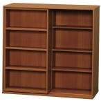 ラック 収納 本棚 書棚 オープンラック ディスプレイラック 文庫 スライド スライドボックス アイリスオーヤマ