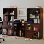 ラック 収納 本棚 書棚 オープンラック ディスプレイラック 文庫 スライド アイリスオーヤマ