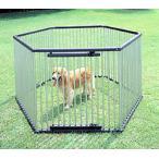 ペットサークル サークル ペット アイリスオーヤマ 屋外 室外 ケージ 犬 ゲージ 中型犬 大型犬 ステンレス製 犬 犬小屋