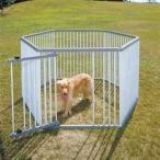 狗屋 - ペットサークル サークル ペット アイリスオーヤマ 小型犬 室内 犬 屋外 パイプ製 犬小屋