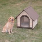 狗屋 - 犬小屋 屋外  アイリスオーヤマ 室外  ログハウス 中型犬 大型犬 木製 ログ犬舎 おしゃれな犬 ウッディ犬舎 WDK-900