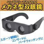 ショッピング双眼鏡 双眼鏡 眼鏡型 サングラス付 倍率 最大4倍 ハンズフリー 拡大鏡 ルーペ メガネ オペラグラス コンサート スポーツ観戦 読書 メール便送料無料
