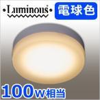 LED小型シーリングライト 電球色 100W相当 TN-CLL-L 小型 LED照明 1520lm 照明 ライト 引掛けタイプ ミニシーリングライト 省エネ エコ ルミナス