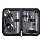 爪切り 匠の技 高級 日本製 爪切りセット 9点 爪きり 毛抜き 耳かき はさみ グルーミングキットLB G-3109