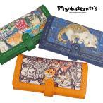 ショッピングマンハッタナーズ マンハッタナーズ manhattaner's ソフトピッグ 財布 ピッグパース かぶせ 長財布 075-8506