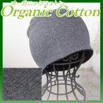 Yahoo!医療帽子プレジールおしゃれ 安い レディース メンズ 薄手 医療用に見えない医療用帽子/オーガニックコットンワッチグレー