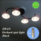 LED オーチャードスポットライト ASP-801BK ブラック  調光 リモコン 省エネ エコ