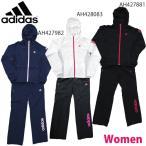 ウインドブレーカー 上下セット アディダス adidas ジュニア キッズ、女の子 テニスウェア ランニングウェア フィットネスウェア