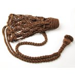 網袋 綿状アクリル繊維製 中