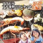 アワビ付プチ海鮮BBQセット(アワビ2個サザエ4個大アサリ4個)[魚介類]
