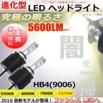 ショッピングLED LEDヘッドライト/フォグランプ HB4(9006)  ファンレス 24V車対応 5600LM ホワイト CREE社製アルミボディ 5500K,6000K,7000K色温度選択