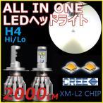ショッピングLED LEDヘッドライト H4 Hi/Lo切替 CREEチップ搭載 6500K 3000ルーメン 高輝度 CHRYSLER STRATUS JA25 H7〜