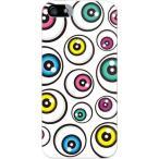 iPhone SE ケース カバー iPhone 5s 目玉 ポップ 可愛い 目玉デザイン アイズ ホワイト