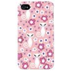 ショッピングiphone4s iphone 4s ケース iphone4s カバー アイフォン4s ネコ 猫 ねこ ぬこ おすまし猫 ピンク