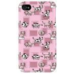 ショッピングiphone4s iphone 4s ケース iphone4s カバー アイフォン4s ネコ 猫 ねこ ぬこ くつろぎネコ ピンク