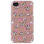 ショッピングiphone4s iphone 4s ケース iphone4s カバー アイフォン4s ネコ 猫 ねこ ぬこ くつろぎネコ ブラウン