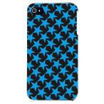 ショッピングiphone4s iphone4s カバー iPhone 4S ケース カバー ほし 星柄 星カバー 星デザイン スター TYPE2 ブラック ブルー