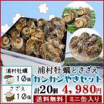 浦村牡蠣 さざえカンカンやきセット 牡蠣...