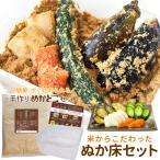 ぬか床 セット 送料無料 簡単にぬか漬けが作れる セット (ぬか床使用時約2kg分) 三重県産特別栽培米の新鮮な米ぬかを使用したこだわりのぬかどこ セット