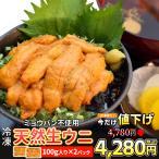 うに 100g×2 天然冷凍生ウニ 刺身雲丹 ミョウバン不使用 無添加 最高級グレードの雲丹 海鮮丼