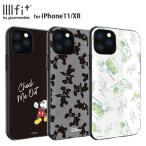 ディズニーキャラクター ミッキー IIIIfit iPhone11/XR 対応ケース New iPhone 6.1inch かわいい キャラクター