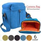 カメラバッグ ミラーレス一眼 デジタルカメラ ショルダー コンパクト バッグ ケース カメラカバン レンズ収納 シンプル 送料無料