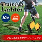 トレーニング ラダー10m 20枚 サッカー テニス 柔道 フットサル練習 瞬発力 敏捷性 アップ
