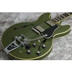 Gibson Memphis / 2016 Limited Run Memphis Historic Series 1964 ES-345TDC VOS Bigsby Mono Varitone Olive Drab Green 【御茶ノ水本店】