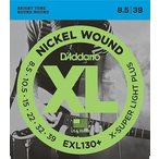 D'Addario / EXL130+ XL NICKEL Electric Guitar Strings Extra-Super Light Plus 085-39 (渋谷店)