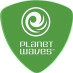 Planet Waves / Duralin Wide Pick 2DGN4 オニギリ Medium 0.85mm Green 【新宿店】