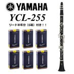 YAMAHA / YCL-255 ヤマハ スタンダード クラリネット ABS樹脂管 【リード半年分(6箱)付き】【横浜店】