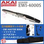AKAI / EWI-4000SW ウィンドシンセ【必需品をそろえた立川限定セット付き!】【立川店】【EWI4000】