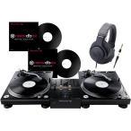 ◆DVS機能搭載DJミキサーとターンテーブル、バイナルのセット!