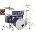 Pearl ドラムセット EXX725/C 702/エレクトリックブルースパークル BDヘッド特別仕様変更モデル