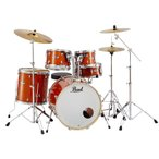 (タイムセール:8日12時まで)Pearl ドラムセット EXL725S/C-249ハニーアンバーラッカー エクスポート シンバル付フルセット スタンダードサイズ(送料無料)