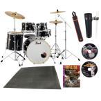 Pearl ドラムセット EXX725S/C #31ジェットブラック ドラムフルセット (スタンダードサイズ) DVD3枚他豪華特典付き限定セット(WEBSHOP)
