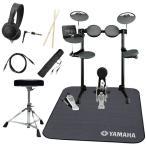 ショッピングヤマハ (タイムセール:26日12時まで)YAMAHA ヤマハ 電子ドラム DTX450KS 純正ドラムマット付きオリジナルスターターパック(YRK)