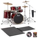 Pearl ドラムセット EXX725SJB/C #760バーガンディ (