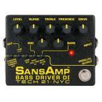 TECH21 / SANS AMP BASS DRIVER DI V2 (ベースプリアンプ) サンズアンプ(送料無料)