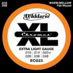 D'Addario / Chromes Flat Wound ECG23 10-48 Extra Light (★お取り寄せ)