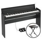 KORG コルグ / LP-180 BK 【椅子セット!】ブラック 電子ピアノ(送料無料)