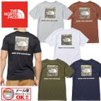 1点までメール便可 2021春夏 ノースフェイス THE NORTH FACE メンズ Tシャツ ショートスリーブスクエアカモフラージュティー NT32158 男性用 半袖 アウトドア
