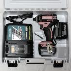 マキタ 充電式インパクトドライバ 14.4V 3.0Ah TD138DRFXP ピンク
