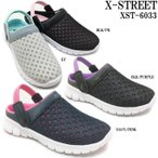 ショッピングサボ X-STREET エックスストリート XST-6033 レディース サボサンダル