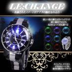 Yahoo!COM-SHOTメンズ レディース 腕時計 ビジネス スーツ 大人 ウォッチ カジュアル LED ET-LECHANGE