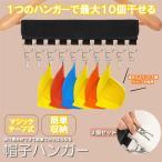 帽子ハンガー 2個セット 洗濯ハンガー 携帯ハンガー10ピンチ 収納 洗濯バサミ 折り畳み 帽子収納 省スペース 旅行用 家庭用 BOUHAN10-2