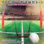 野球練習ネット 213×213cm 折り畳み式 ソフトボール バッティングネット ピッチング 収納用バッグ YAKYUNETR