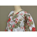 女性に人気の唐獅子牡丹の鯉口シャツ!!価格もお買い得に設定いたしました。サイズは小・中・大の3サイズ...