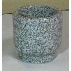 お墓 石のコップ (水鉢) 青御影石 全国送料無料(一部地域を除く)