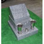 一人で組み立て可能!!青御影石石碑一式(大) 設置用資材・ステンレス金具・文字彫入れ等全て込み 墓石
